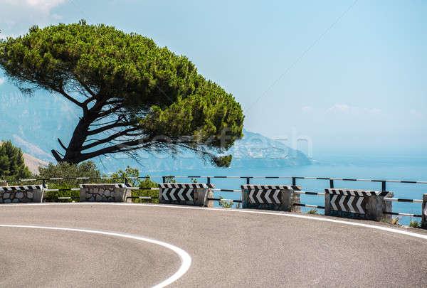 The road along the Amalfi Coast. Italy  Stock photo © amok