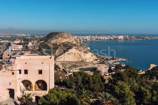 Alicante cityscape. Costa Blanca. Spain Stock photo © amok