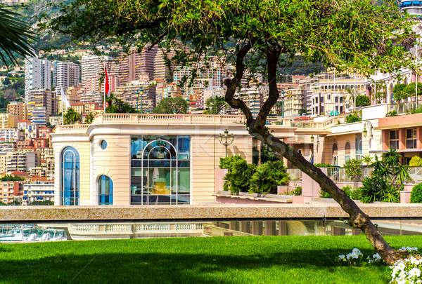 Monaco architecture herbe bâtiment ville rue Photo stock © amok