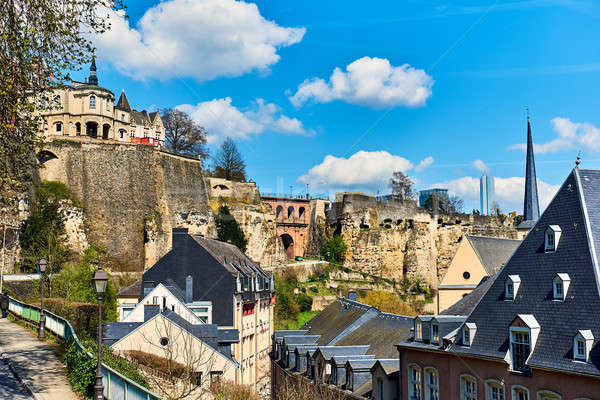 Luxembourg cityscape. Western Europe Stock photo © amok