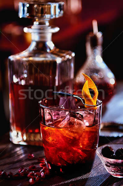 Alcoholic cocktail Stock photo © amok