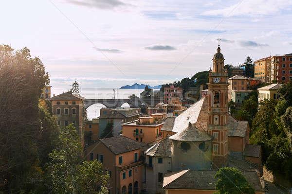 Antigo arquitetura Itália região paisagem igreja Foto stock © amok