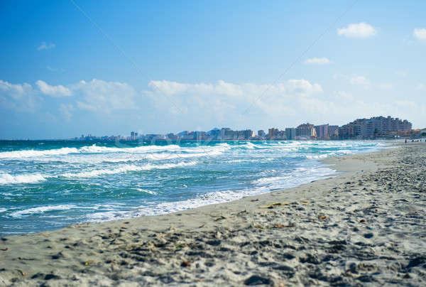 Akdeniz deniz manga plaj İspanya Stok fotoğraf © amok