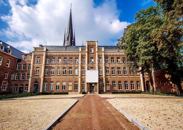 Exterior of Basilica located in historic centre of Sittard. Stock photo © amok