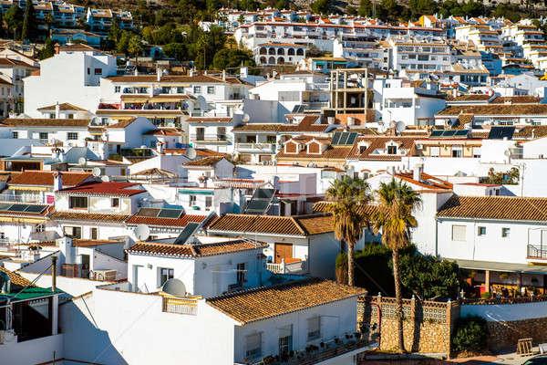 Rooftops of Rancho Domingo village Stock photo © amok