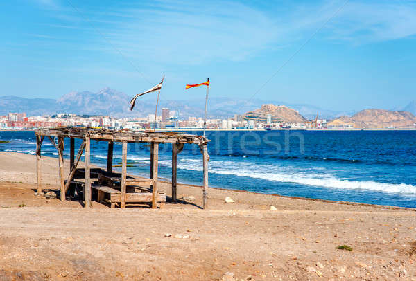 Alicante coastline. Costa Blanca. Spain Stock photo © amok