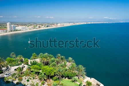 Beautiful landscape (Peniscola, Spain) Stock photo © amok
