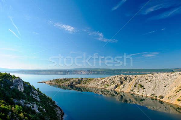 Belle nature paysage Croatie plage eau Photo stock © amok