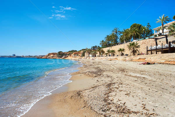 Beach of Punta Prima. Province of Alicante. Southern Spain Stock photo © amok