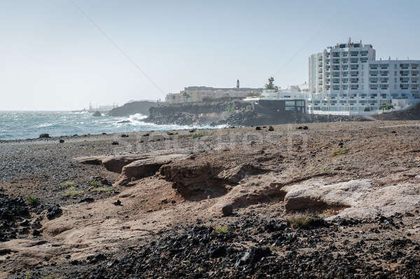 Rocky coast of Tenerife. Canary Islands. Spain Stock photo © amok