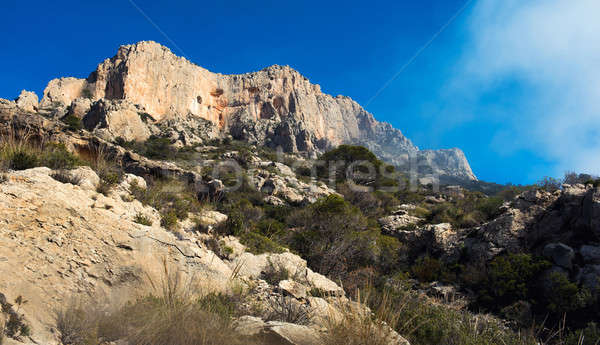 Alto montanas pequeño encantador pueblo 20 Foto stock © amok