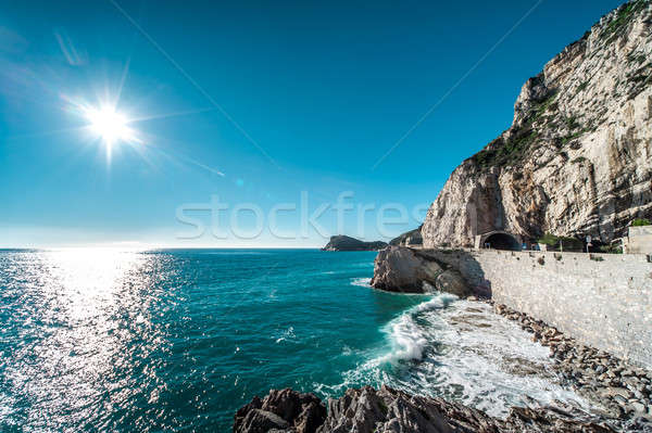 Finale Ligure seaside, Italy Stock photo © amok