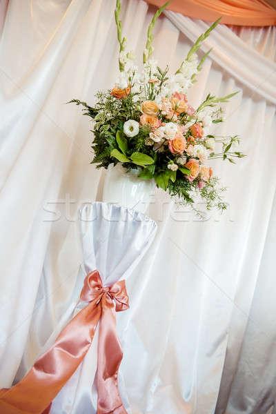 結婚式 花 装飾 パーティ バラ ファッション ストックフォト © amok