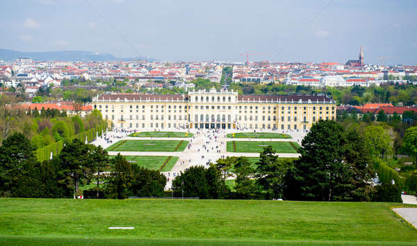 Schonbrunn Palace. One of the most important cultural monuments  Stock photo © amok