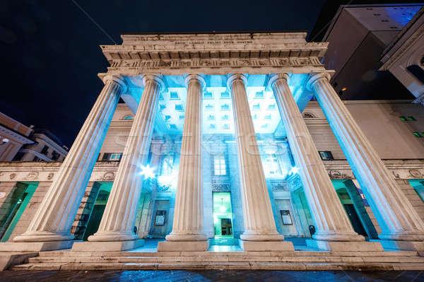 опера дома Италия здании город улице Сток-фото © amok