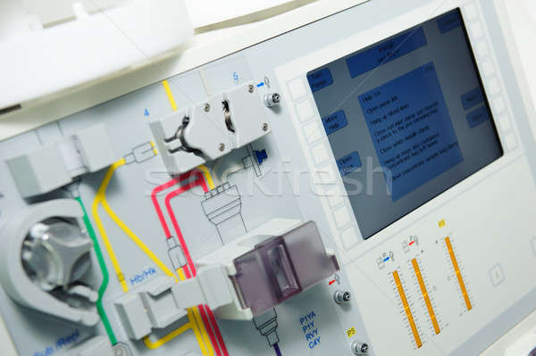 Equipment at oncology department at hospital Stock photo © amok