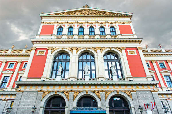 Viennese Music Association (famous Vienna concert hall) Stock photo © amok