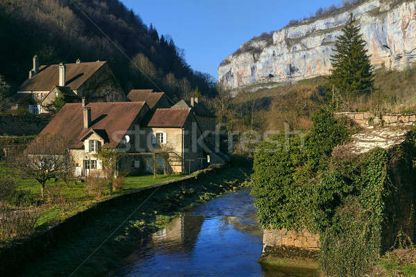 Baume-les-Messieurs village Stock photo © amok