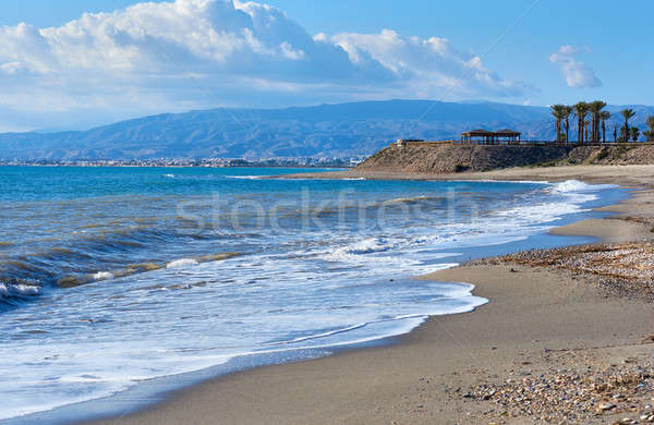 Coastline at Retamar. Province of Almeria. Spain Stock photo © amok