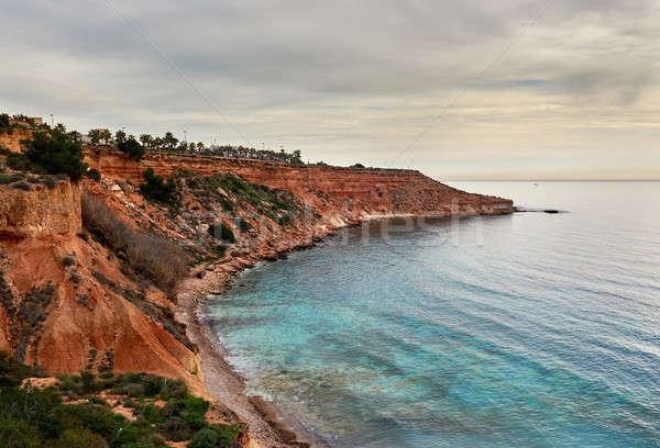 Foto stock: Costa · España · popular · Resort · sur