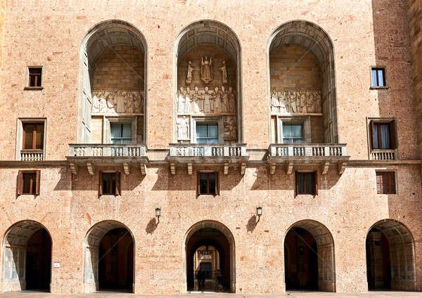 The Benedictine abbey of Santa Maria de Montserrat Stock photo © amok