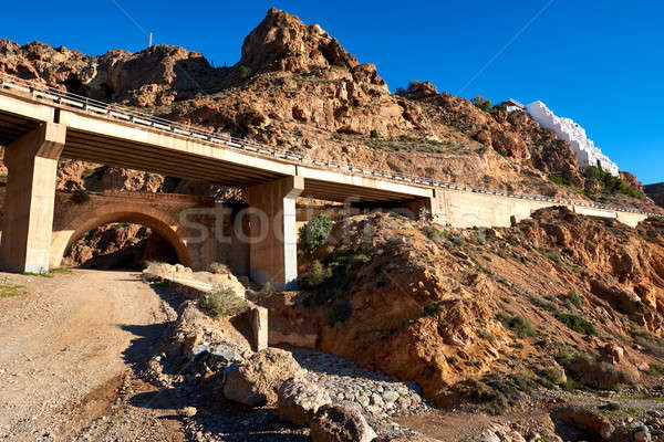 Viaduct between Aguadulce and Almeria cities. Spain Stock photo © amok
