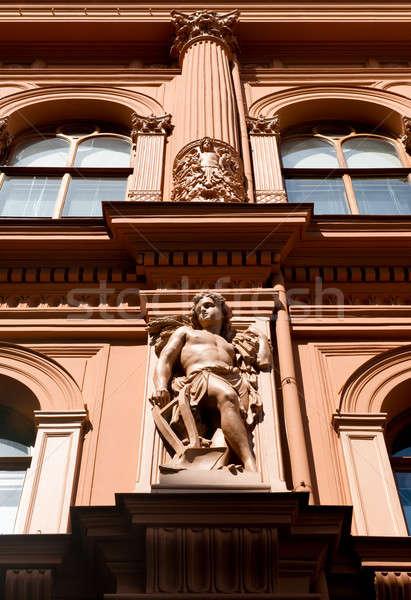 Art noveau arquitetura Riga Látvia edifício cidade Foto stock © amok