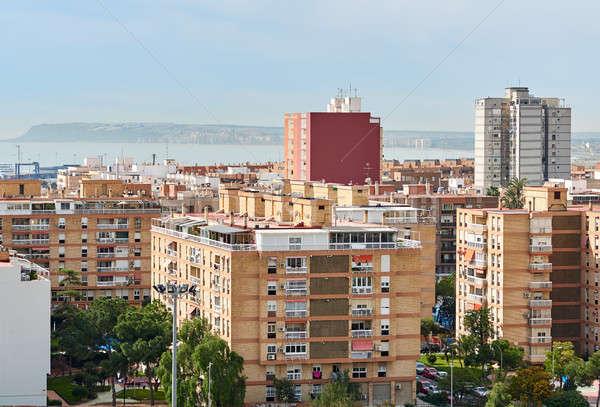 High-rise buildings of Alicante city. Costa Blanca. Spain Stock photo © amok