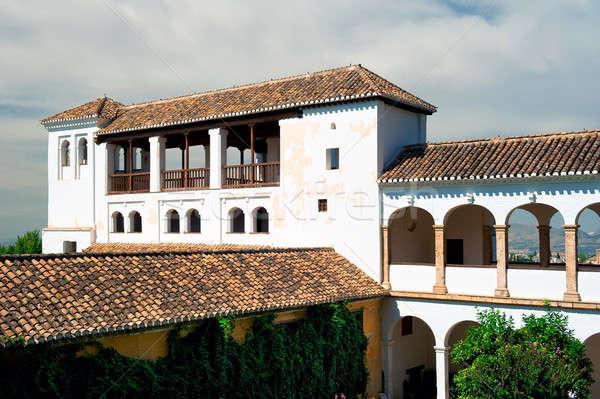 Alhambra palace in Granada, Spain Stock photo © amok