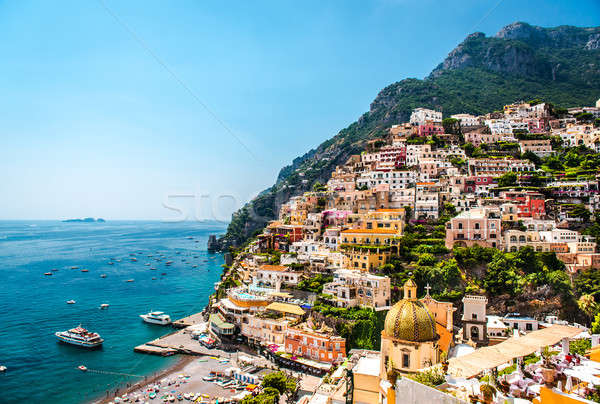 Picturesque Amalfi coast. Positano, Italy Stock photo © amok