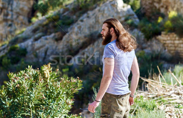Young man traveler  Stock photo © amok