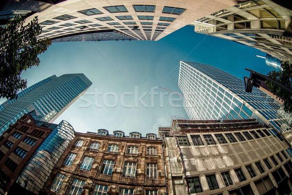 Grattacieli Francoforte sul Meno principale Germania business Foto d'archivio © amok