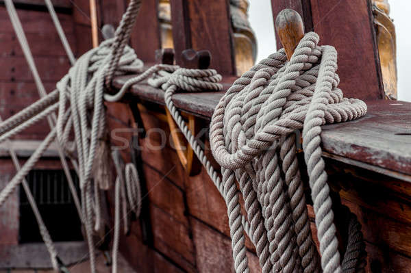 Ship rigging Stock photo © amok