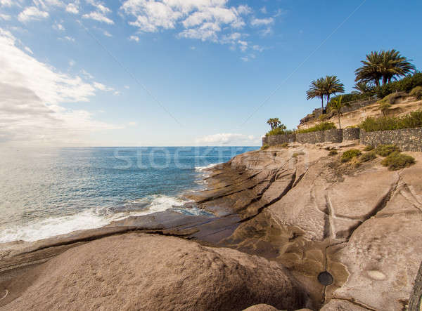 Picturesque El Duque beach inTenerife. Canary islands, Spain Stock photo © amok
