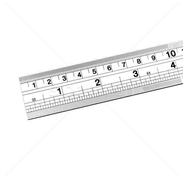 Ruler isolated on white background Stock photo © amok