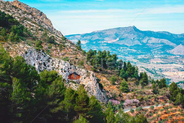 Scenic rocky mountains. Spain Stock photo © amok