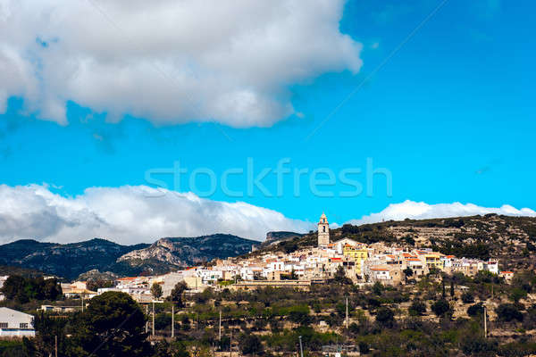 Picturesque Rossell town Stock photo © amok
