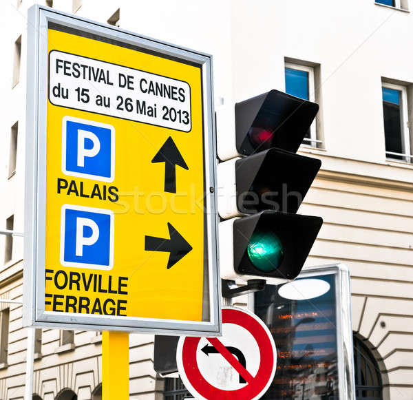 2013 Cannes Film Festival sign outdoor Stock photo © amok
