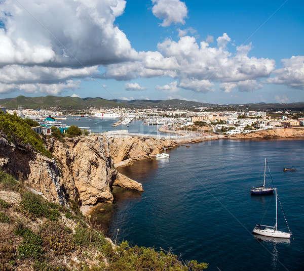 Ibiza seaport Stock photo © amok