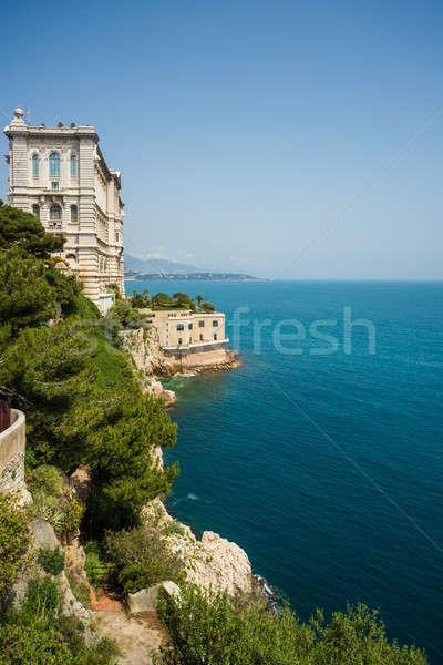 Museo Mónaco cielo agua naturaleza mar Foto stock © amok