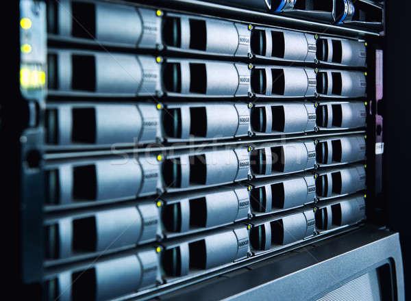 Data center działalności biuro technologii tle internetowych Zdjęcia stock © amok