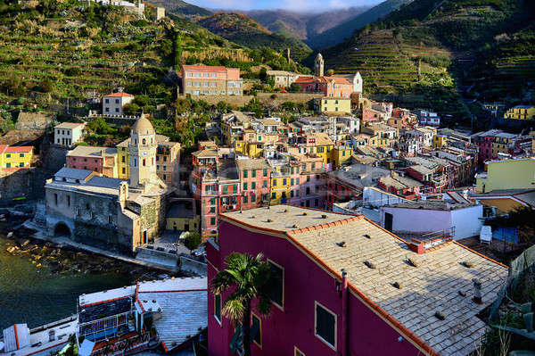 Pittoresque Italie faible village italien Photo stock © amok
