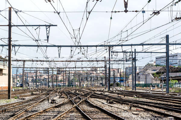 Marseille St. Charles railway station, France Stock photo © amok