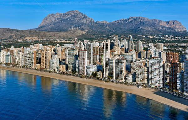 şehir İspanya modern başvurmak Stok fotoğraf © amok