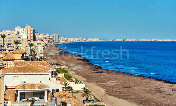 Coastline of La Manga. Spain Stock photo © amok