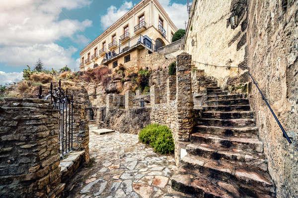 Ronda city. Province of Malaga, Andalusia, Spain Stock photo © amok