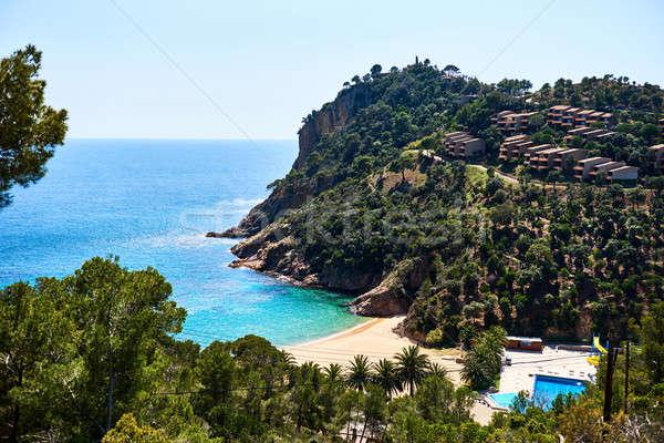 Pittoresque plage Espagne eau paysage été Photo stock © amok