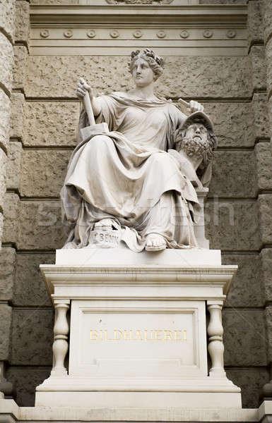 Museum kunst geschiedenis sculptuur Wenen Stockfoto © amok