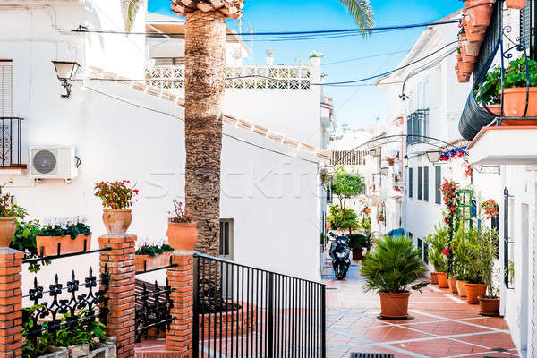 Picturesque backstreet of Rancho Domingo. Spain Stock photo © amok