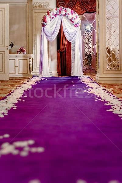 свадьба проход готовый церемония любви интерьер Сток-фото © amok